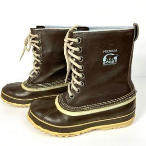 Sorel 1964 Premium Winter Boots Brown Size 6 Women